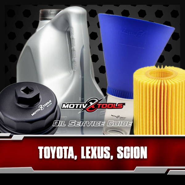 Toyota Lexus and Scion Oil Service Guide