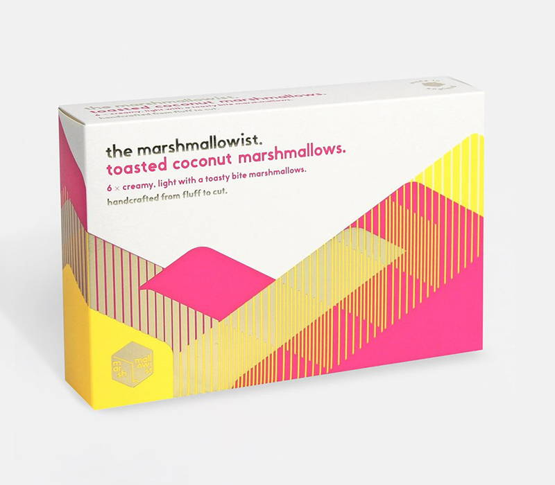Product photograph of 'Toasted Marshmallows', from The Marshmallowists