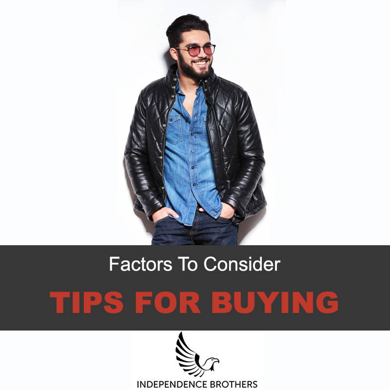 tips for buying leather jacket