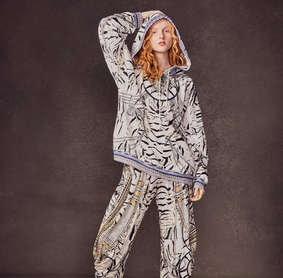 CAMILLA Wild Belle Loungewear   Camilla Hoodie