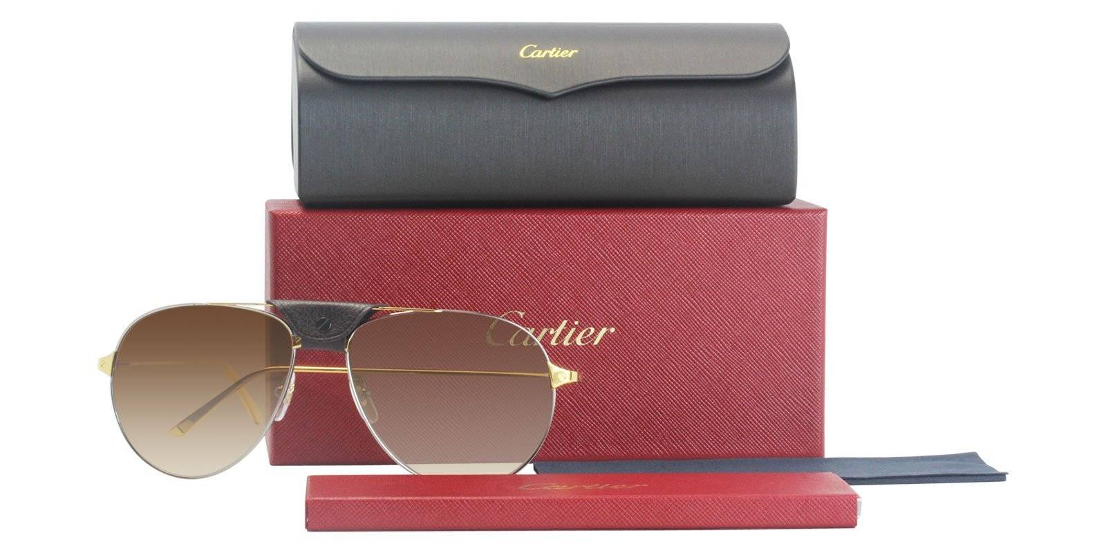 d7f17fd380c130 Top 10 Cartier Sunglasses Gift Ideas for him and her– Designer Eyes