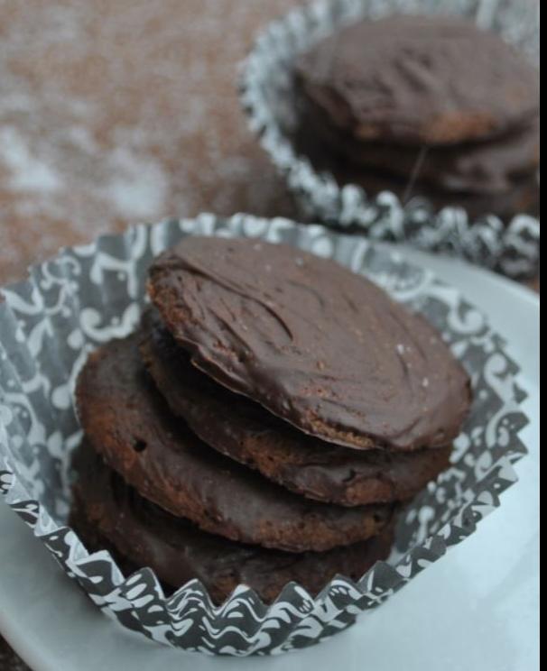 Vegan Thin Mint Cookies