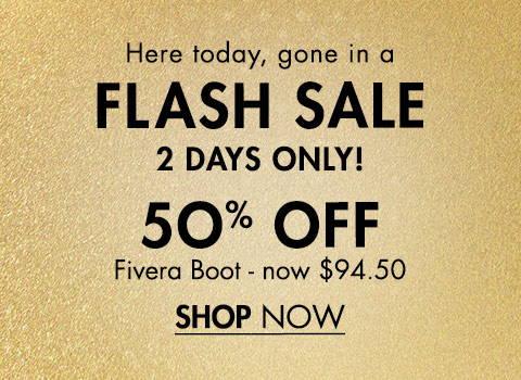 50% Off Fivera Boot