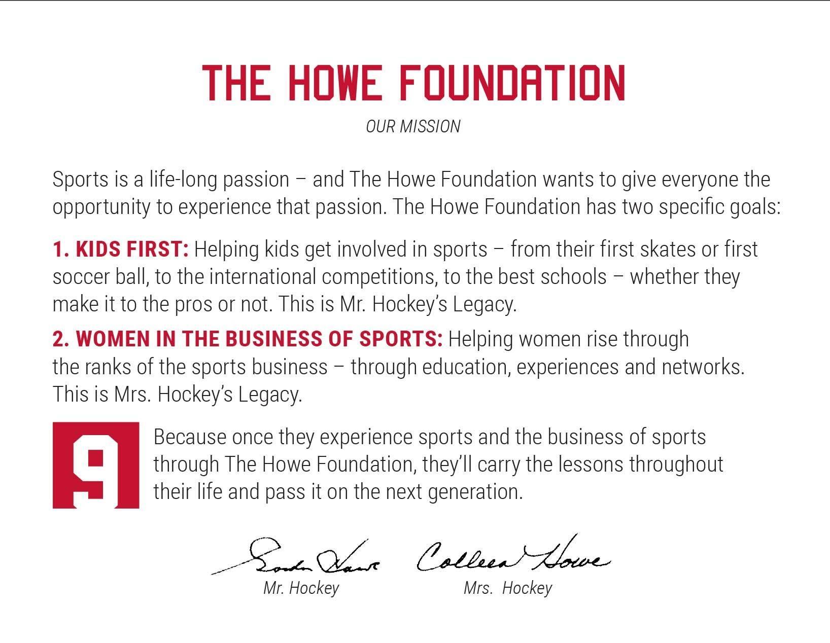Howe Foundation Description
