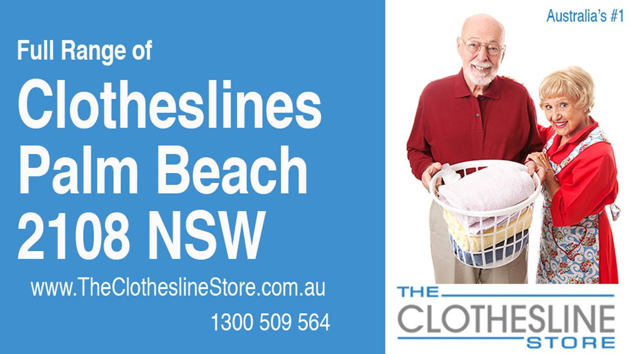 Clotheslines Palm Beach 2108 NSW