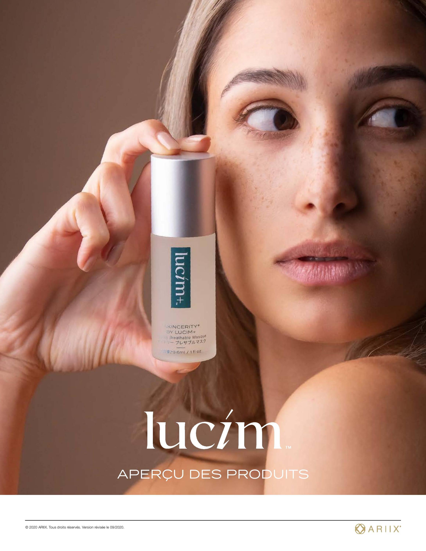 Lucim Skin Care is een huidverzorgingslijn die door ARIIX is ontwikkeld uit natuurlijke ingrediënten, glutenvrij, wreedheidsvrij, gmo-vrij.