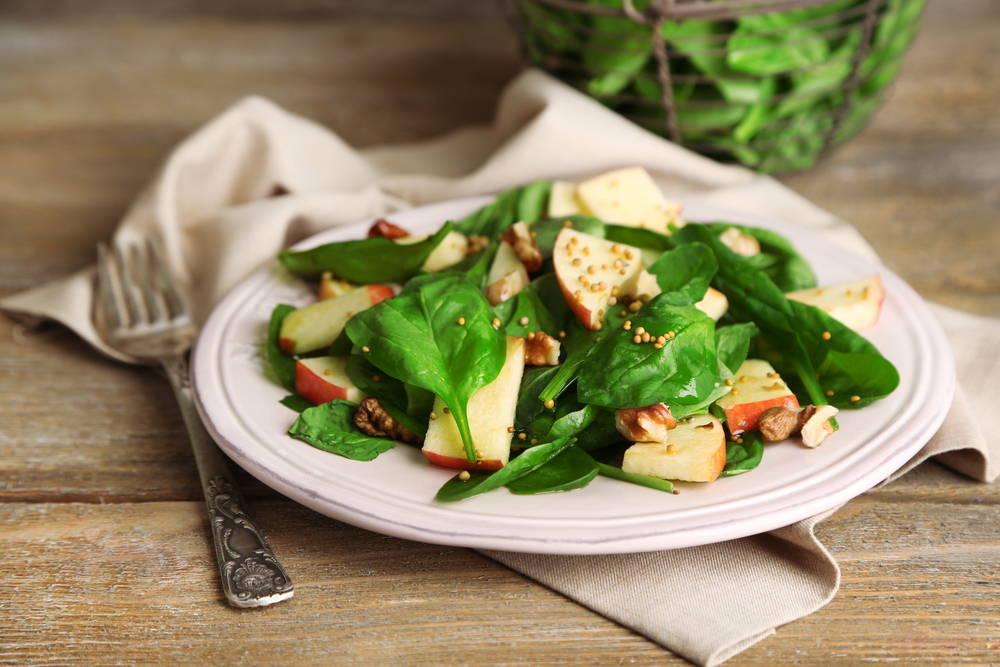 spinach-apple-winter-salad