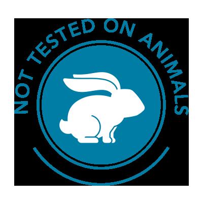 Ikke testet på dyr