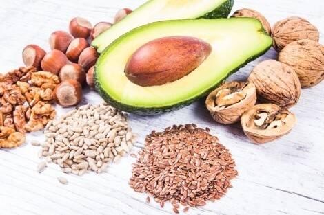 Vegane Lebensmittel Nüsse Kerne