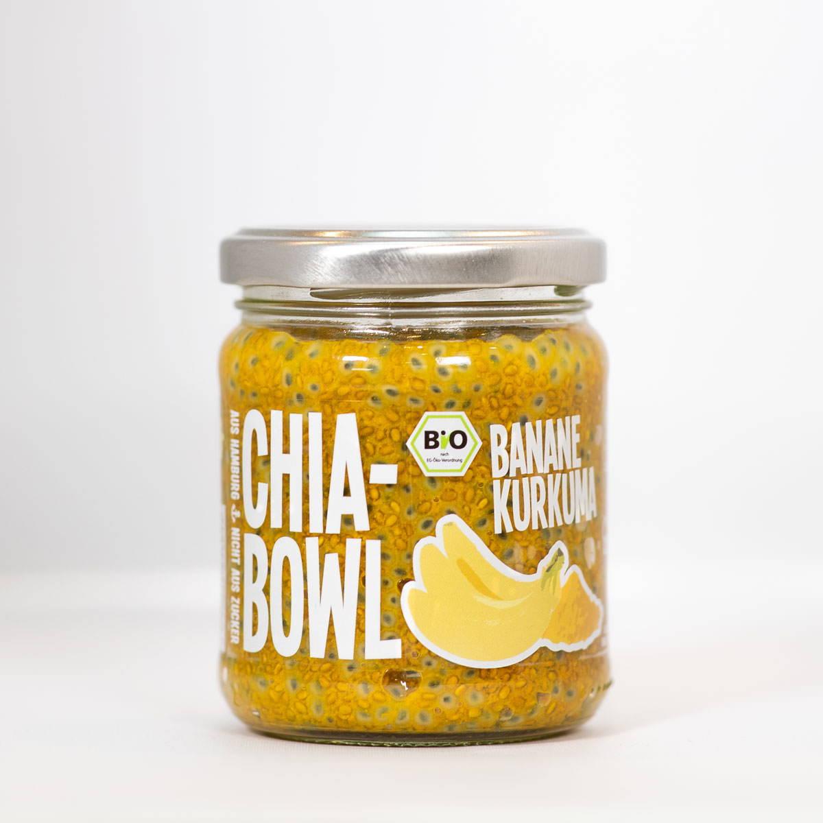 Chia Bowl Banane Kurkuma
