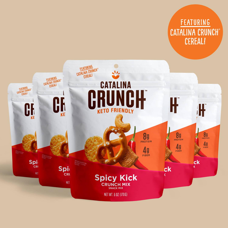 Spicy Kick Keto Snack Mix - Catalina Crunch