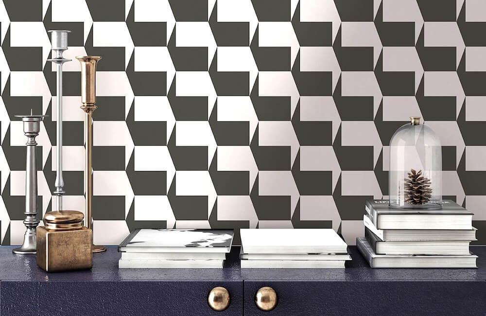 Geometric Furniture & Decor - Wallpaper