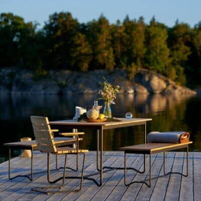 Outdoor Dining Furniture Including Tables