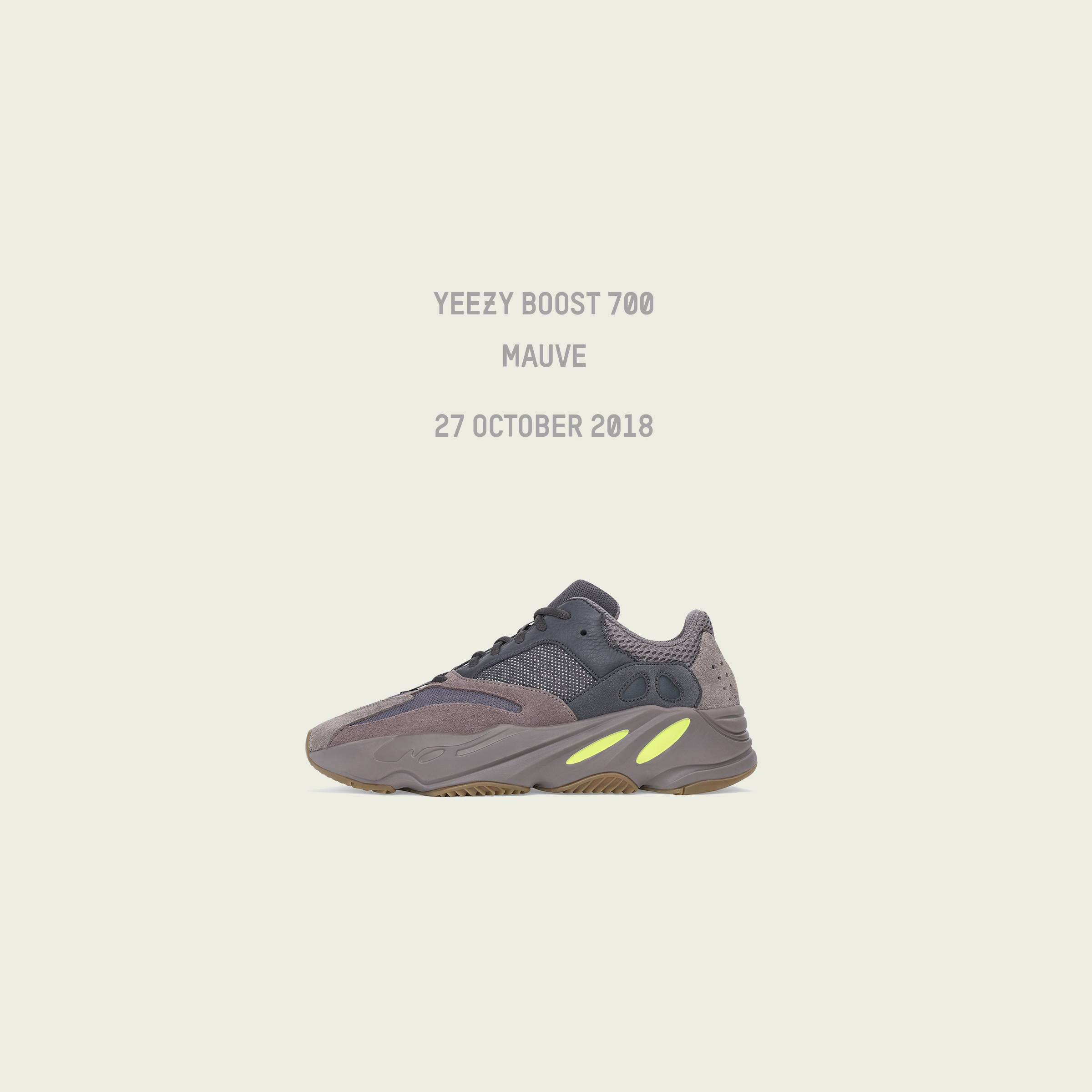 online store a12ed a447e adidas YEEZY Boost 700 Mauve