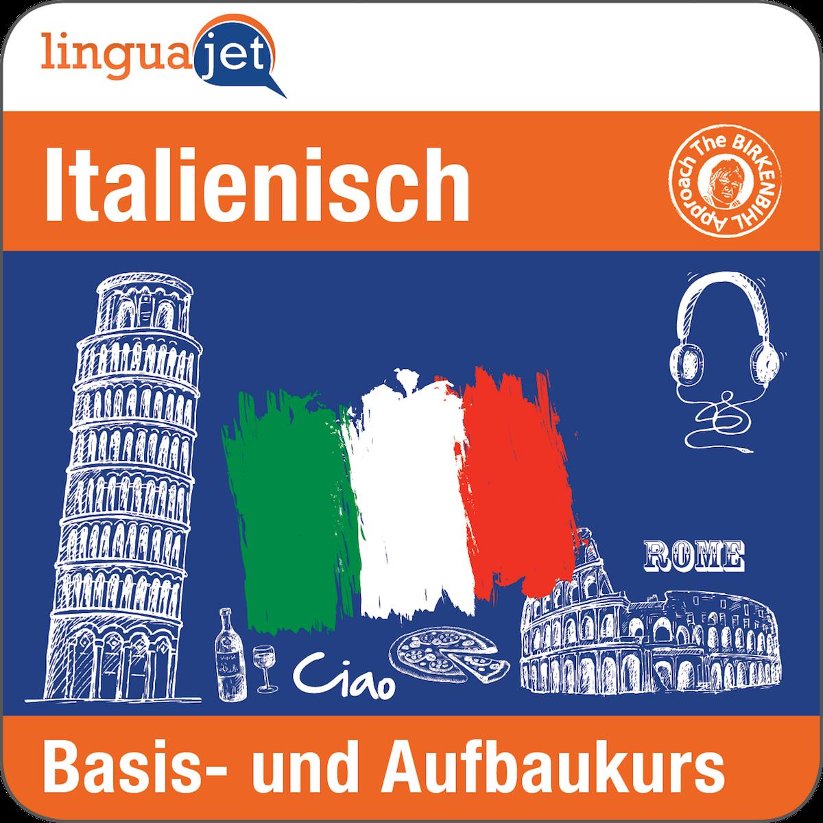 Mit der Kombination Basis und Aufbau beim online Italienischkurs sparen