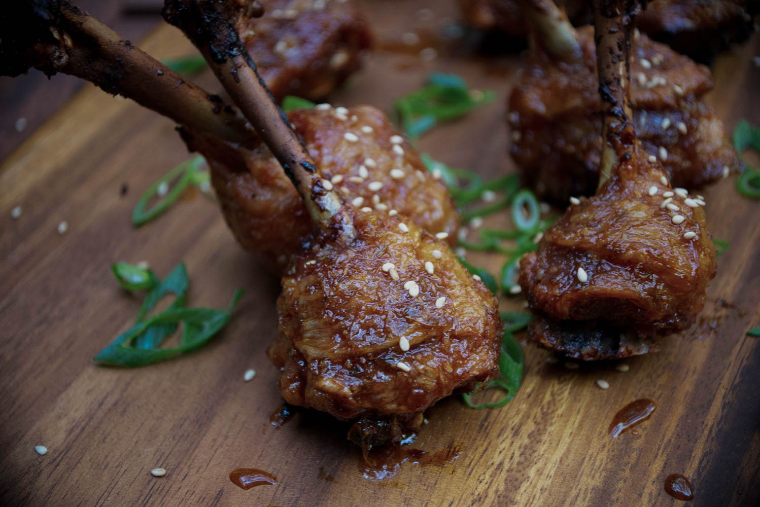 Chicken lollipops, charcoal companion, honey ginger drumsticks, chicken lollys, smoked chicken
