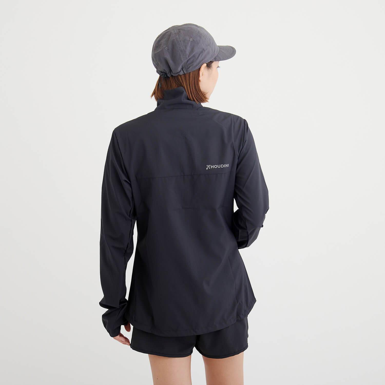 HOUDINI(フーディニ)/エアツーエアウィンドジャケット/ブラック/WOMENS