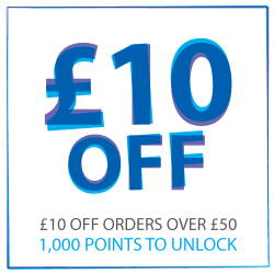 £10 off when you reach 1000 points