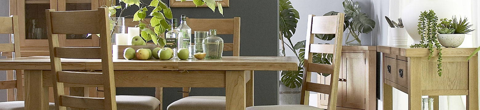 Carbrooke Oak Dining Collection