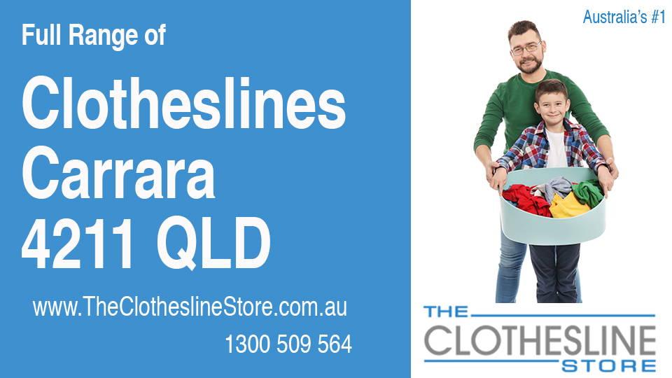 New Clotheslines in Carrara Queensland 4211