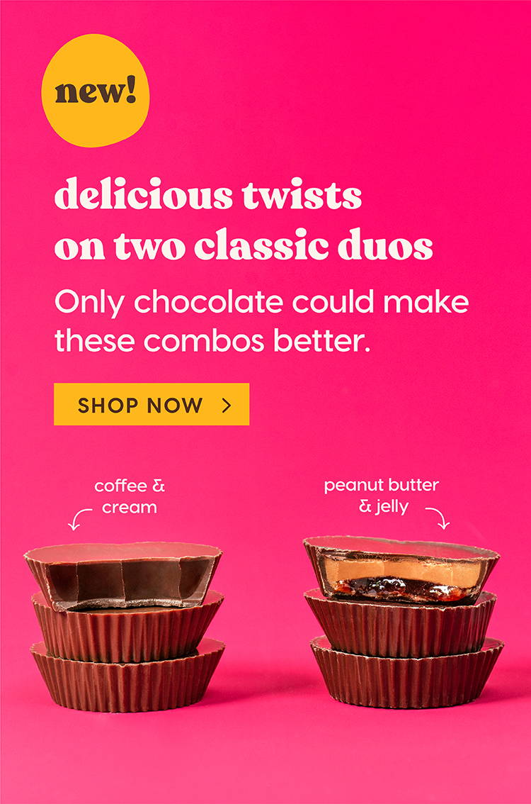 NEW! Delicious twists on two classic duos