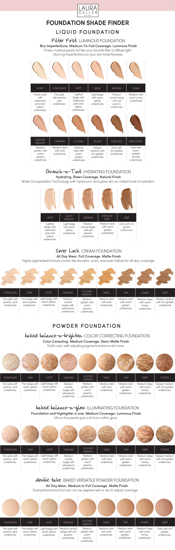 Foundation Shade Finder Laura Geller