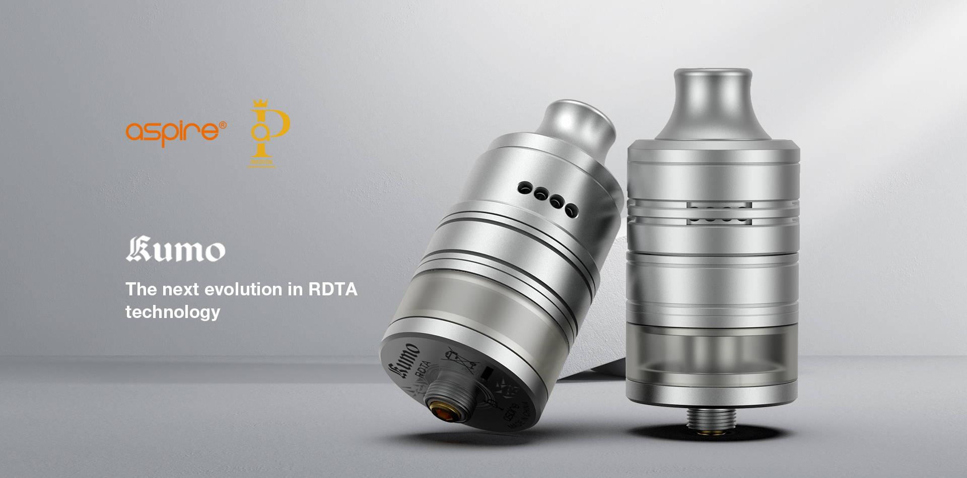 Kumo RDTA | Aspire Rebuildable Tanks | Aspire Prestige