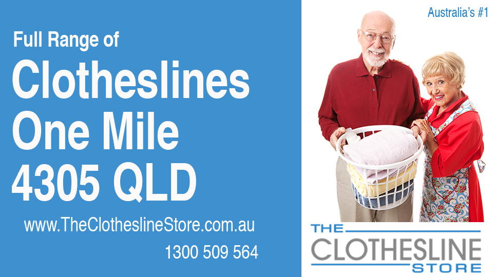 New Clotheslines in One Mile Queensland 4305