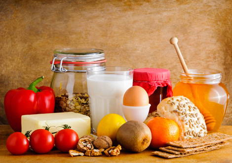 Aliments pour végétariens