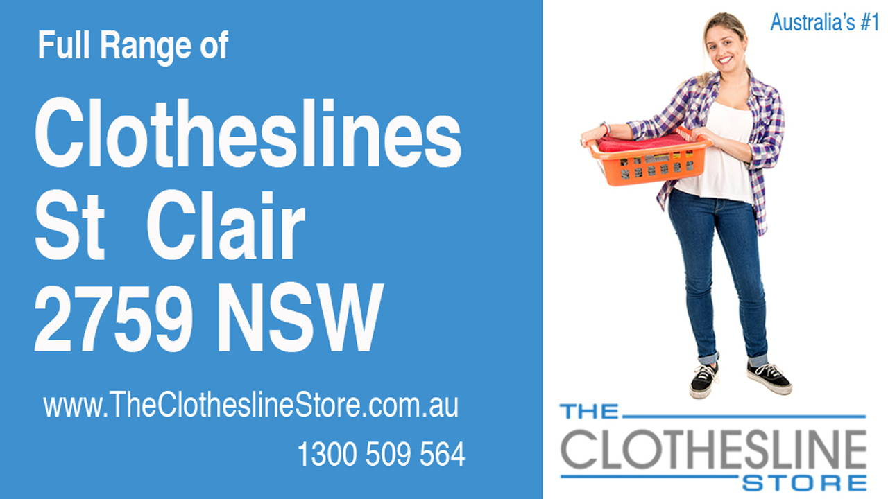 New Clotheslines in St Clair 2759 NSW