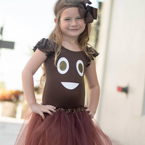 Poop emoji Halloween costume