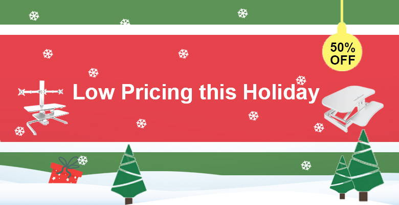 Get Our Inexpensive Standing Desk Converter this Holiday. Ergonomically Designed, Low Pricing, and Best Affordable Value. Up to 50% Off. As Low As $148. Shop Now!