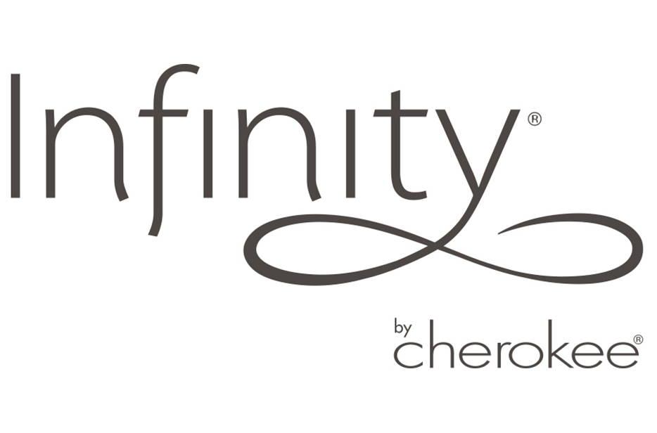 Cherokee Infinity Scrubs Logo