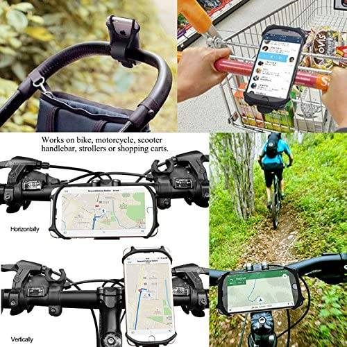 Silicone Bike Phone Holder Mount 5