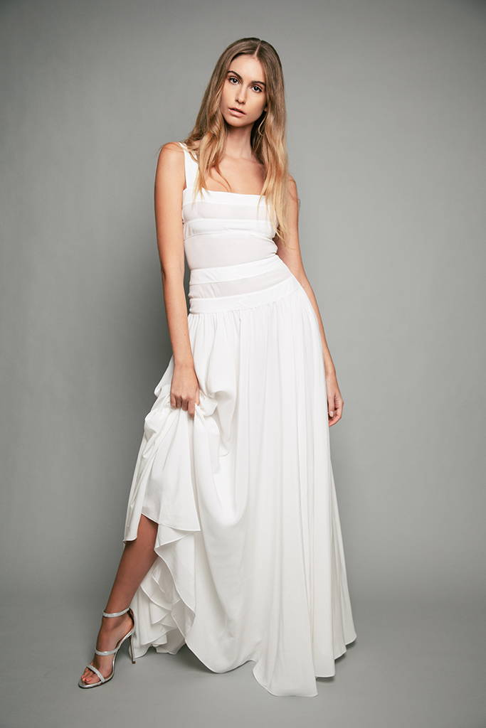 PENDA • Luxury Designer Fashion  • Frida Kahlo Crepe de Chine silk dress