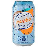 Nexba Coconut and mango Sparkling WAter 330ml