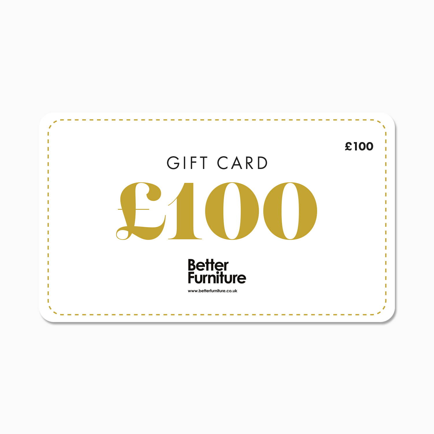 £100 Better Furniture Gift Card