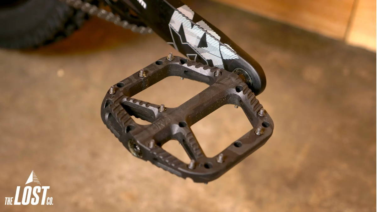 oneup one up components composite plastic pedals black