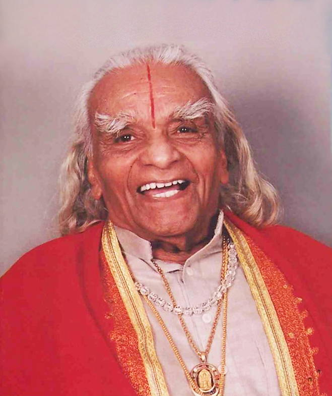 BKS Iyengar portrait
