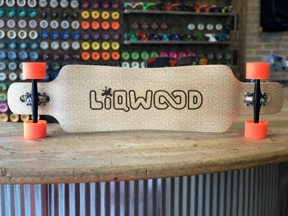 LiQWOOD Renegade Dance Longboard