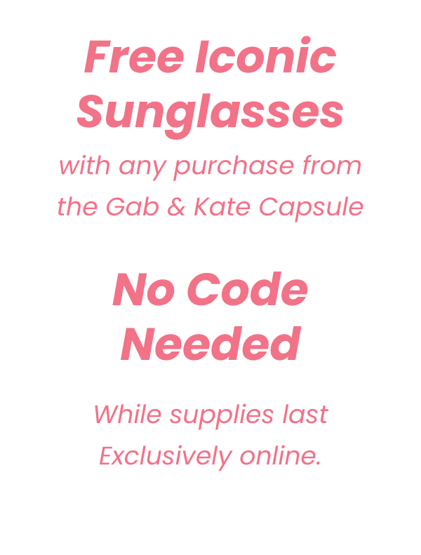 Free Iconic Sunnies with any purchase