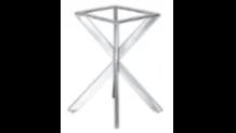 contemporary spider pedestal table base