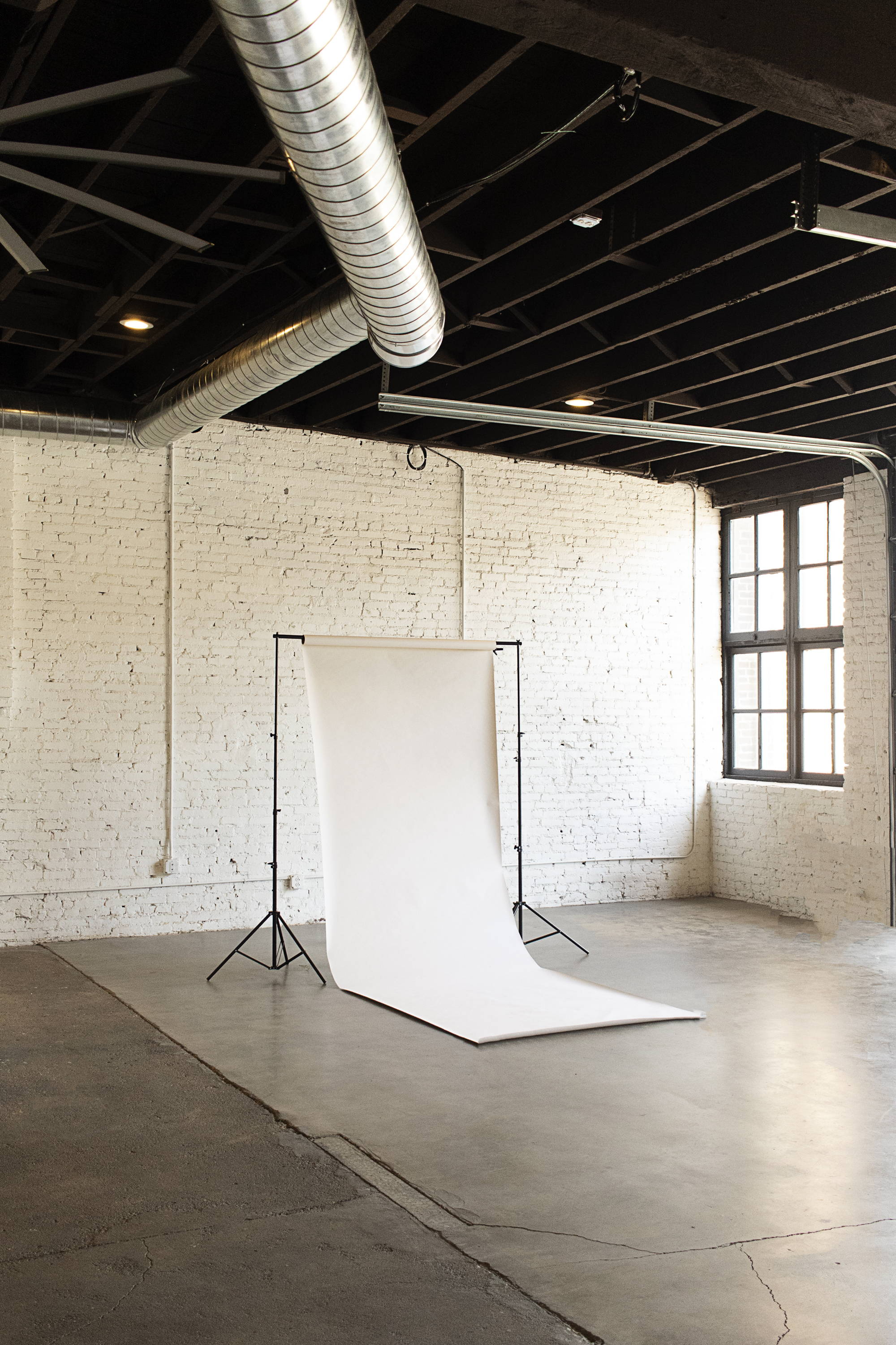 equipment available in photography studio