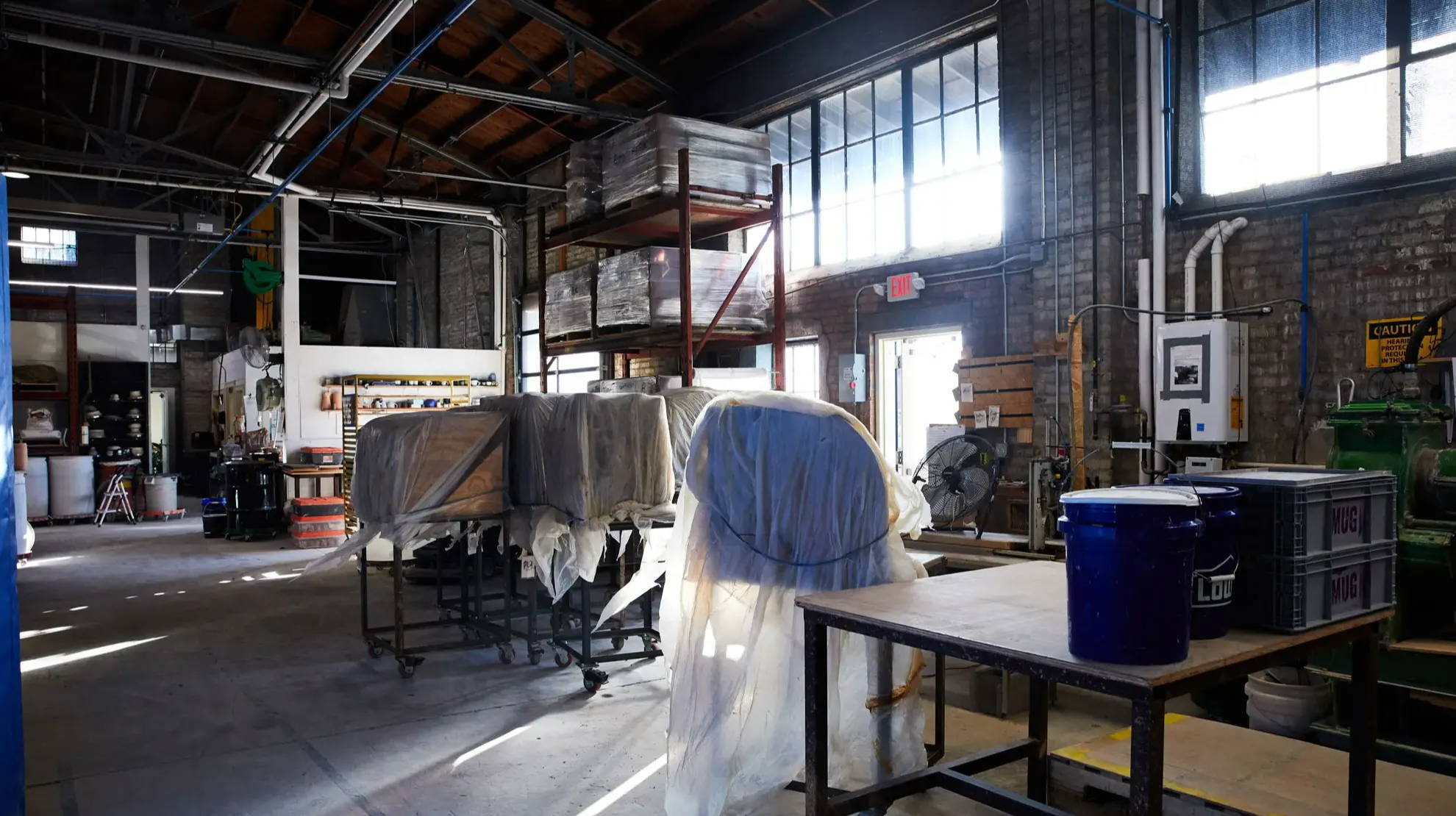 The East Fork factory in Asheville, North Carolina