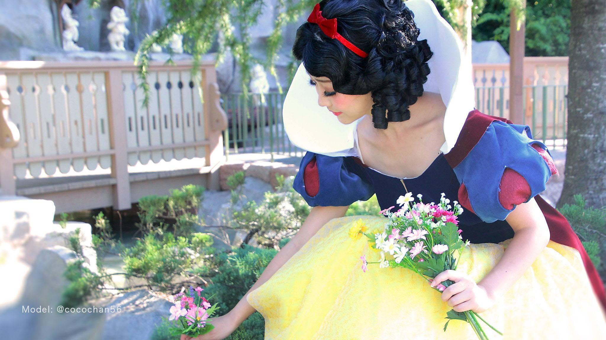 Snow White Style Wig