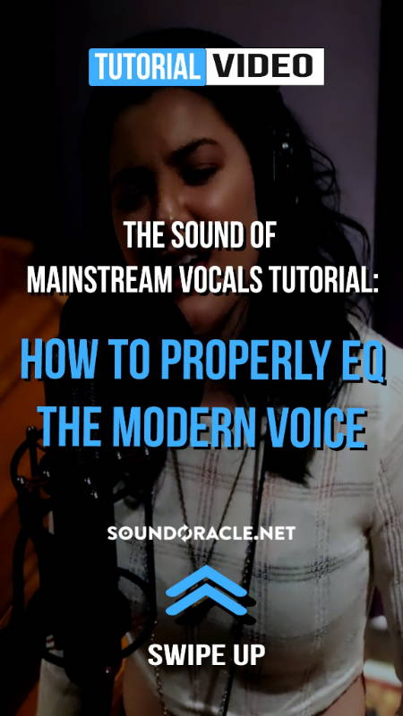 "The Sound of Mainstream Vocals Tutorial - Follow along as professional engineer Eric Michaels (@realisticproductions) gives you step-by-step guide on ""How To Properly EQ The Modern Voice."" WATCH IT HERE!"