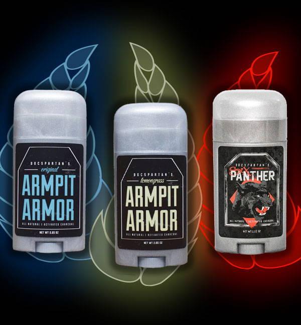 Doc Spartan Armpit Armor Natural Deodorant