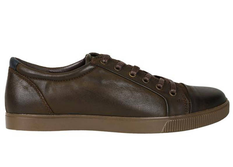 8b51b8f02df Tomaz C268 Leather Cap-toe Sneakers (Coffee) - Tomaz Shoes