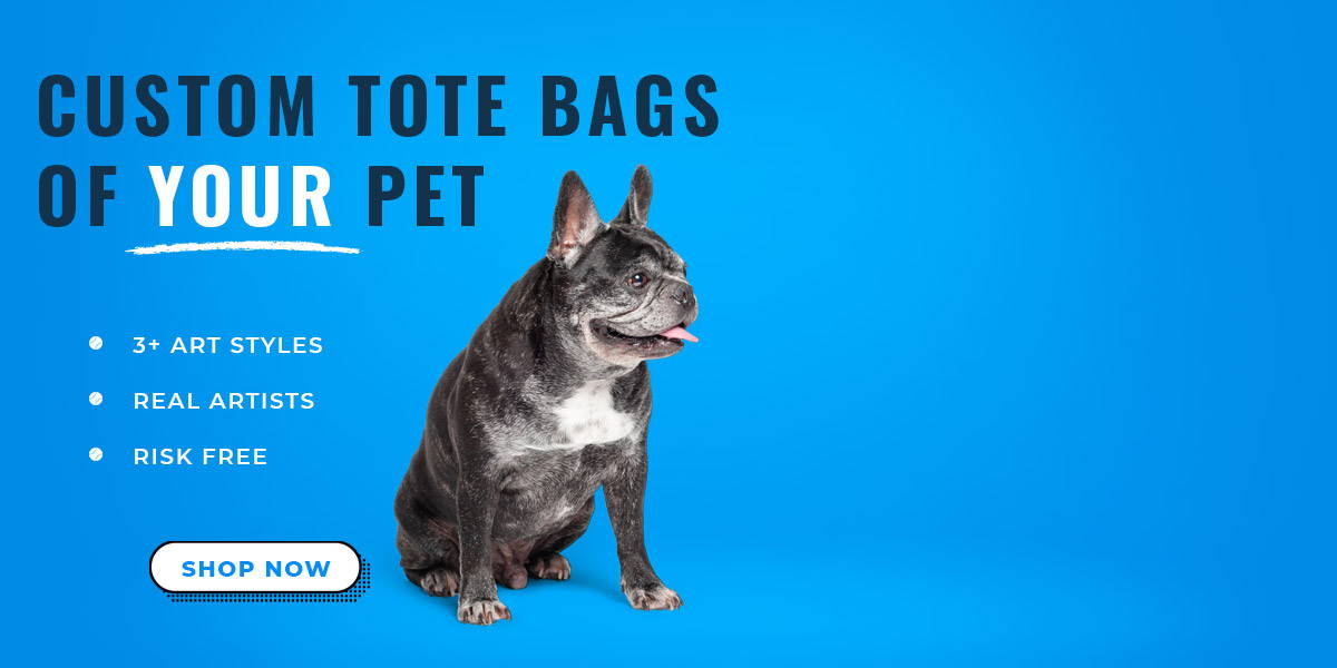 French bulldog tote bag art