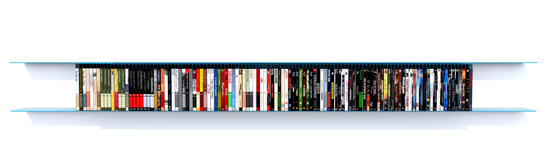 Blu-ray étagère ral 5012 1,90 m bleu ciel